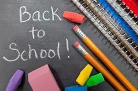 2019-BACK TO SCHOOL LETTER