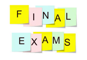 FINAL EXAM INFO for SEMESTER I