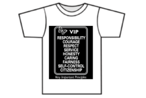 Wear your VIP Shirts on Thursdays!