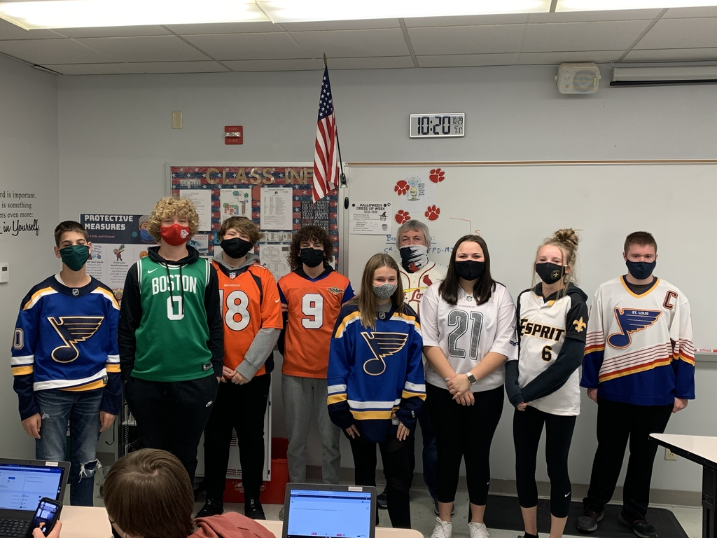 Jersey Day!