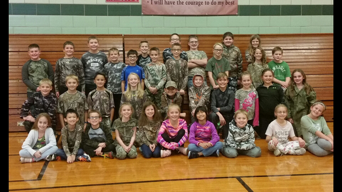Red Ribbon Week- Camo day