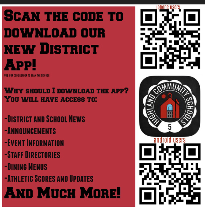 Download the New District App!