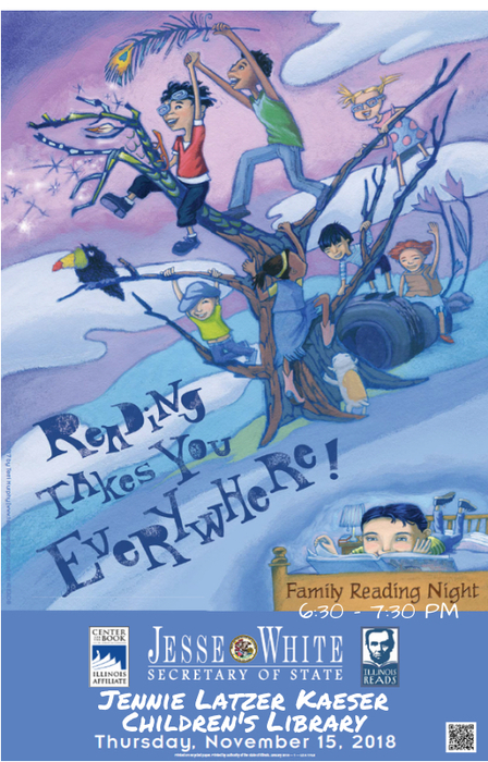 Family Reading Night at Latzer Library