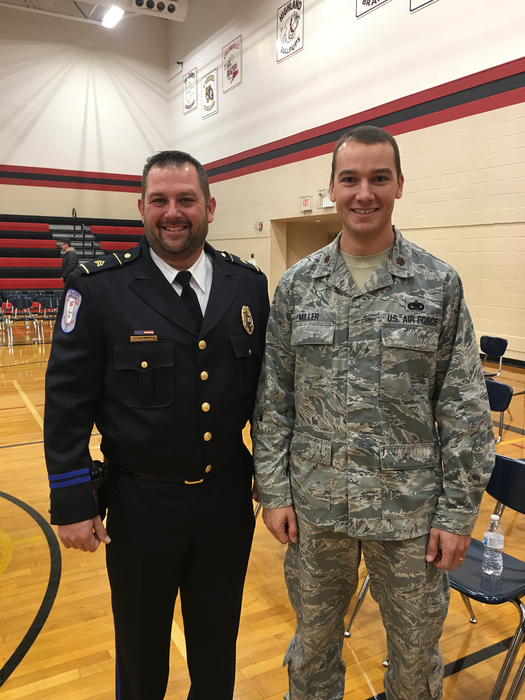 Thank you Sgt. Athmer and Major Miller for being our guest speakers this year!