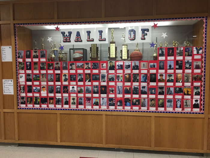 HMS is proud of their Veterans!
