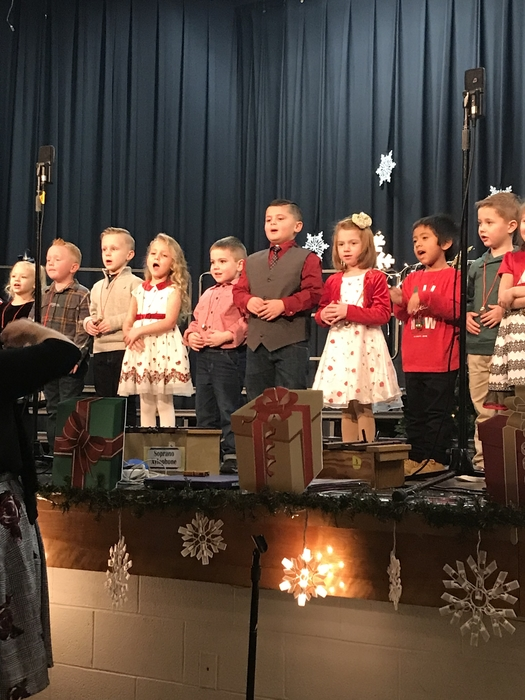 Our Kindergarteners brought the Christmas spirit!