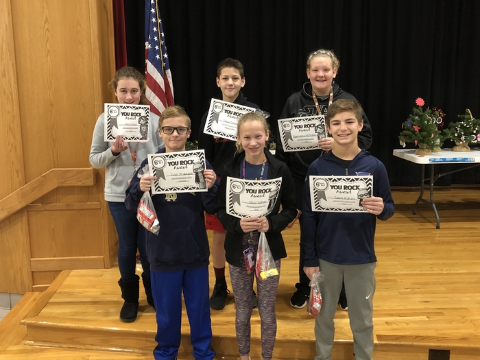 Way to go 6 Red award winners! Congrats!!
