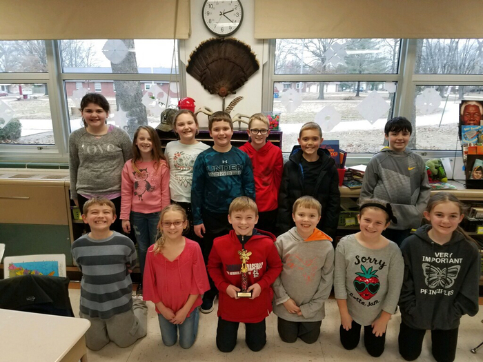 Mrs. Warnecke's 4th grade participants