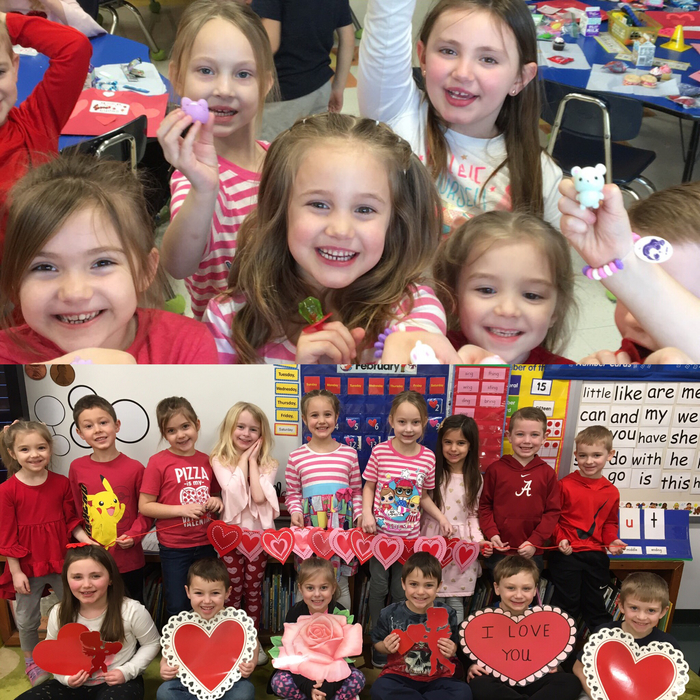Valentine's Day fun in Kindergarten❣️