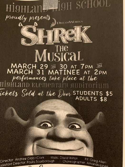 Shrek the Musical information