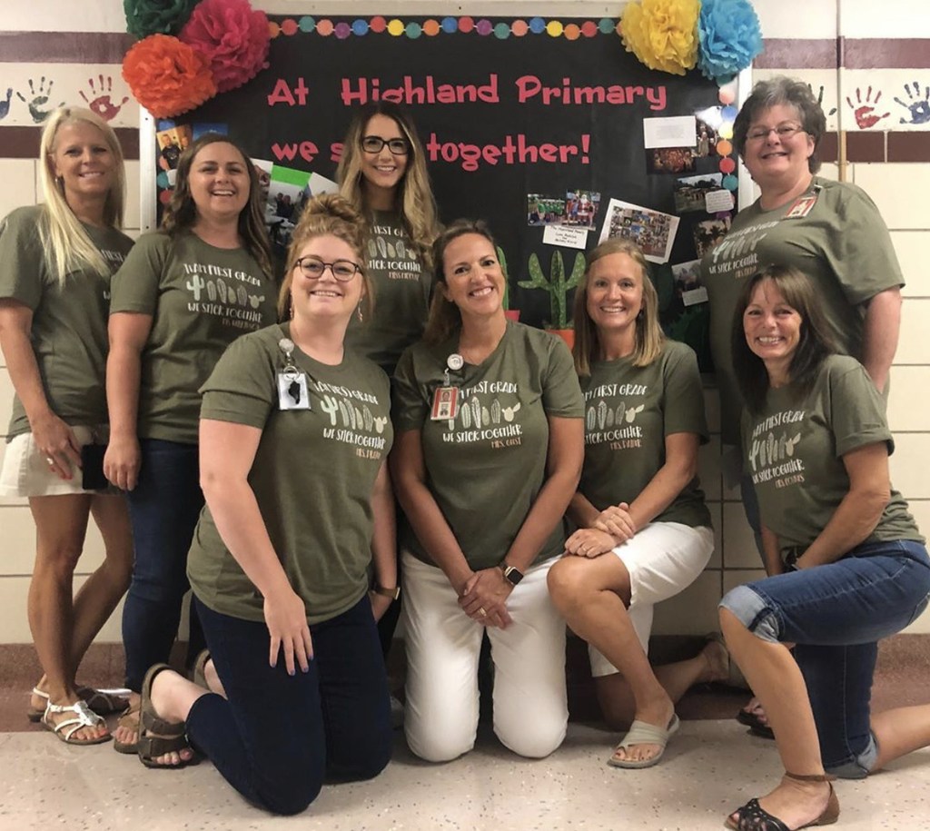 Welcome from the first grade team!