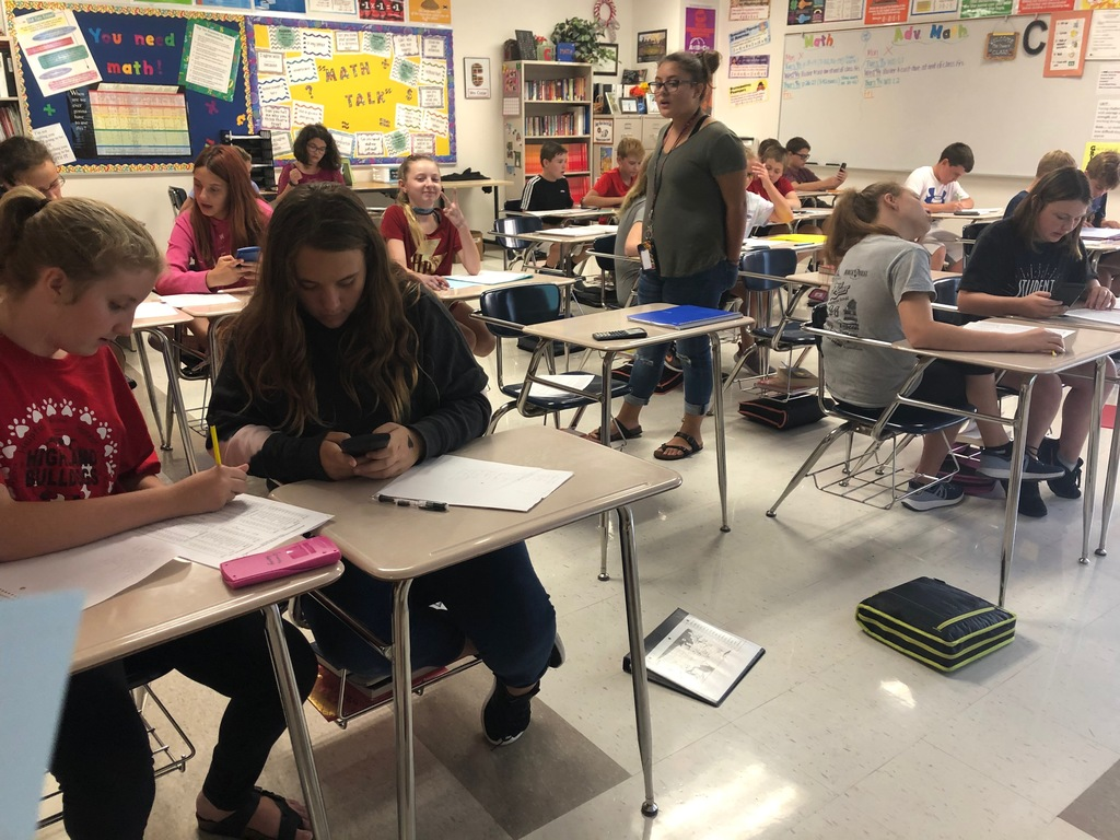 It's Draft Day! 7 Red students drafted their fantasy football teams this week in math class!