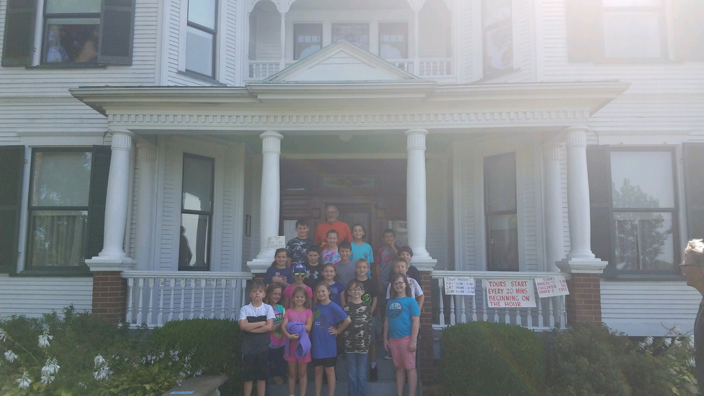 Our fourth grade students enjoyed a field trip to the Latzer Homestead today.