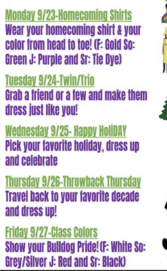 Dress Up Days!