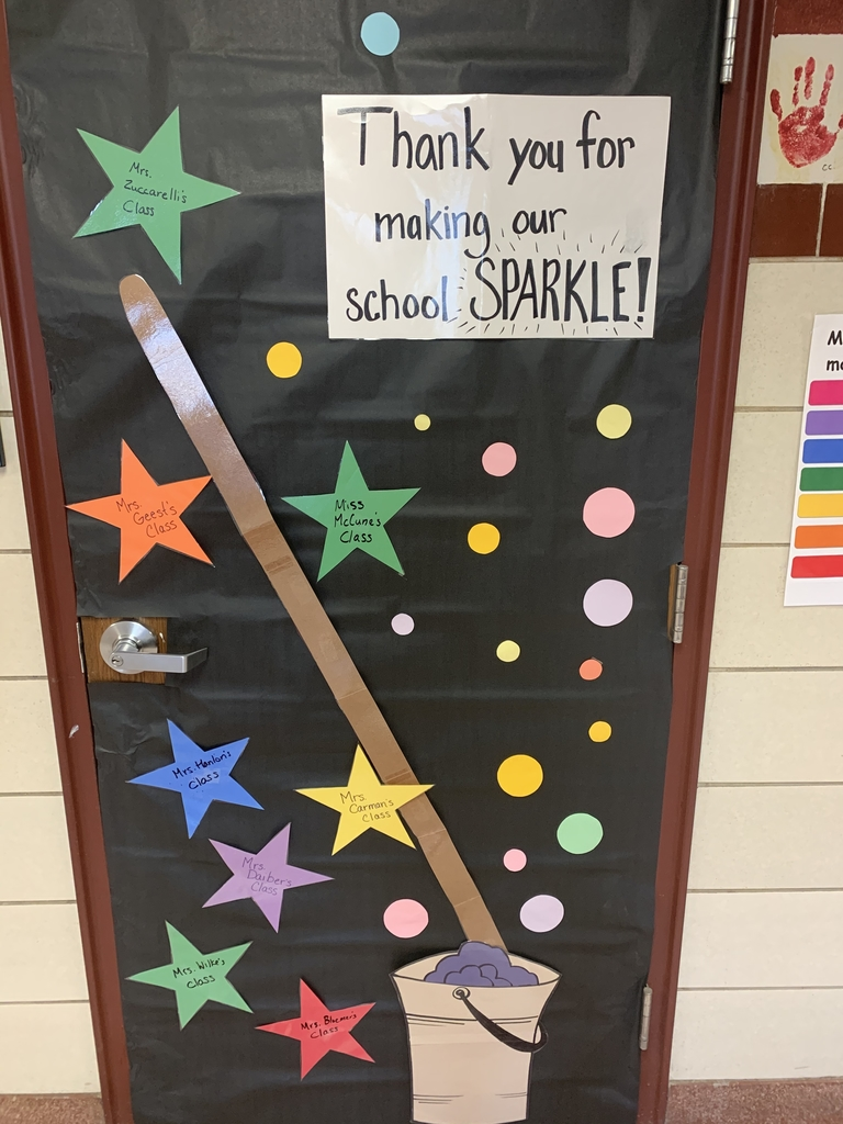 Happy Custodial Appreciation Week!