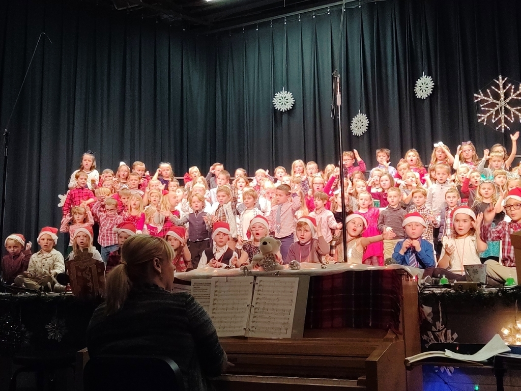 Christmas Finale for Kindergarten