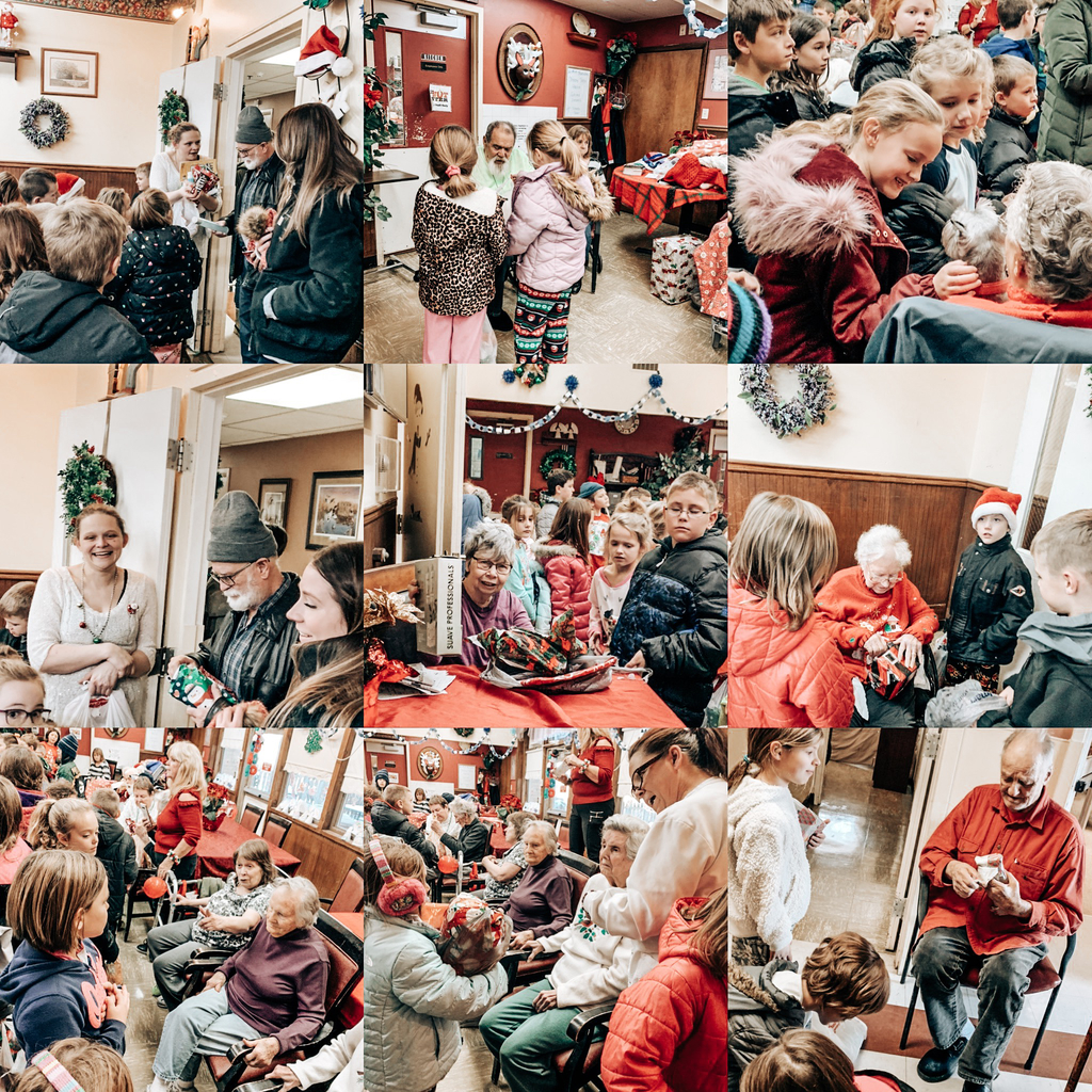 Second and Third grade students delivered presents to Alhambra Care residents today! The room was filled with Christmas joy! ❤️🎄🌟 We are so proud of our students and their giving hearts!