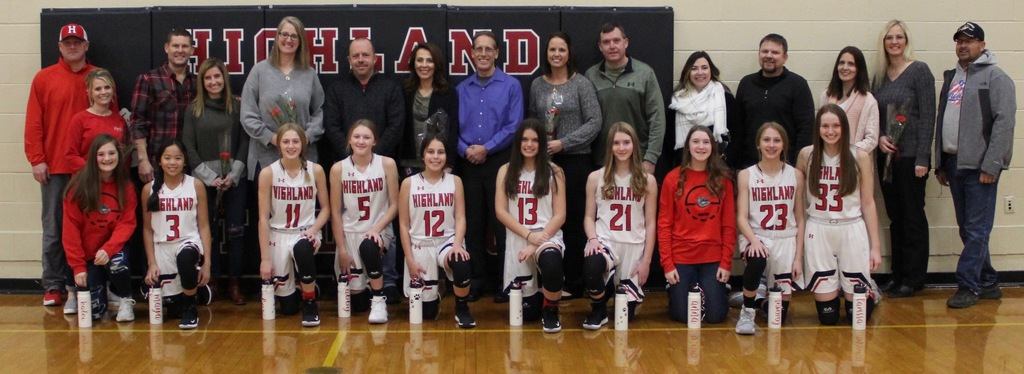 8th Grade Parent Night - girls basketball