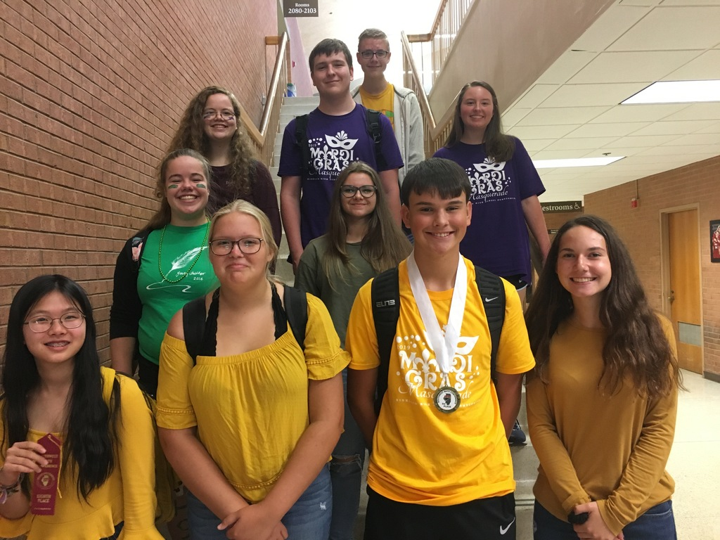 SMC #1  Jessica Chen, Mazzy Robertson, Joe Jansen, Brooklyn Lackey, Summer Carroll, Audrey Harris, Sylvie Carroll, David Forys, Abby Bowers, and Zach Bluhm
