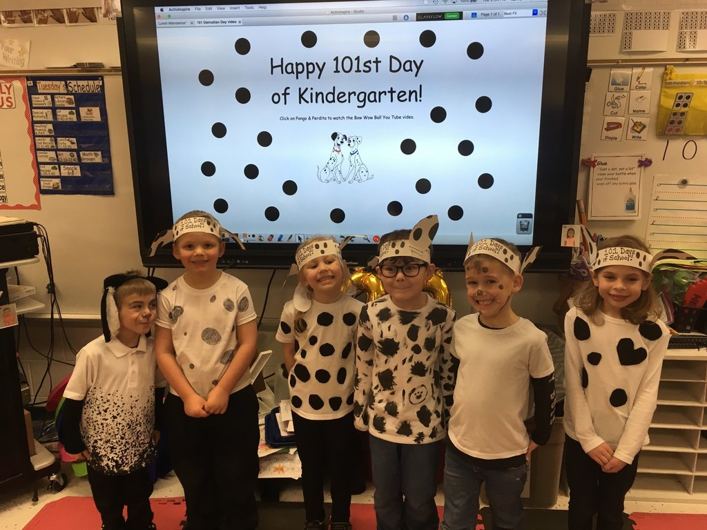 101 days in kindergarten