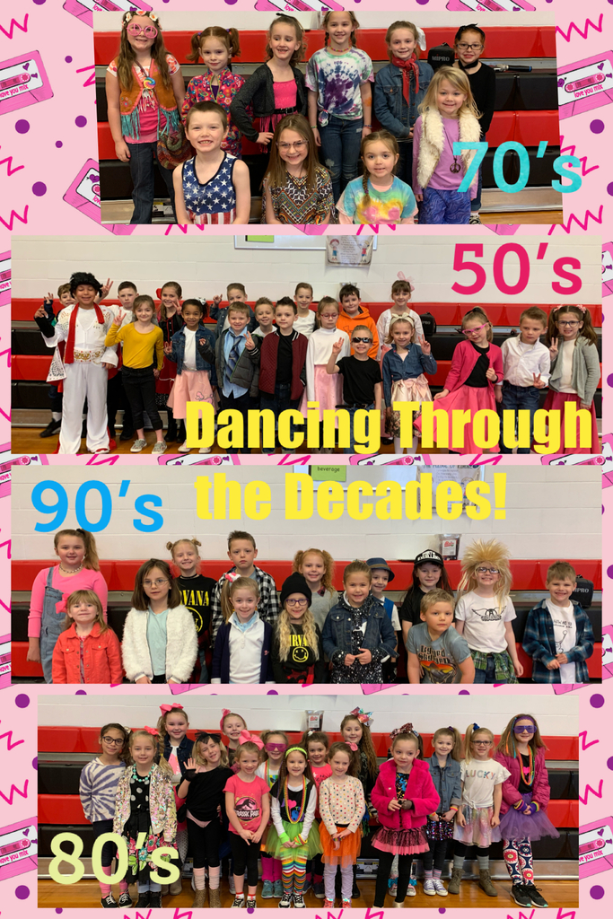 Dancing Through the Decades!