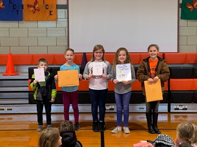 Young Author Winners