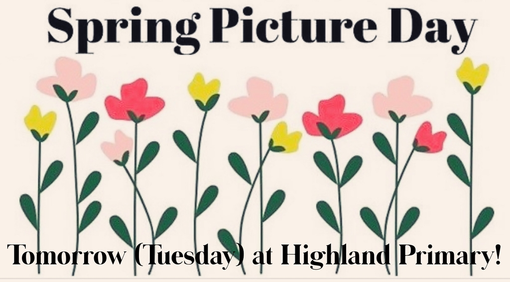 Spring picture day tomorrow.