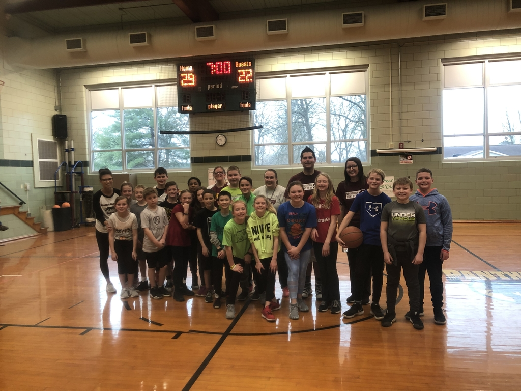 The students and teachers had a great time playing in our staff vs.  student basketball game.  The staff won, but barely!  Great job to everyone, and thanks to Mr. Valero for organizing this fun event for our students.