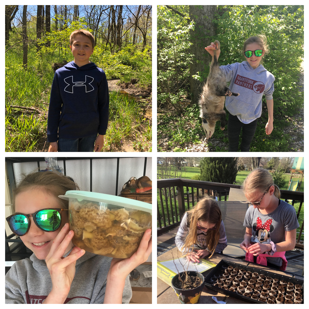 Grantfork Elementary students celebrated Earth Week in many different ways!