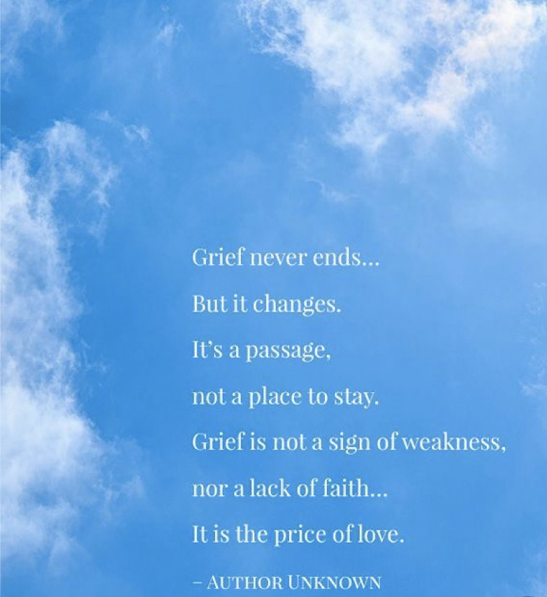 Wellness Wednesday- Grief