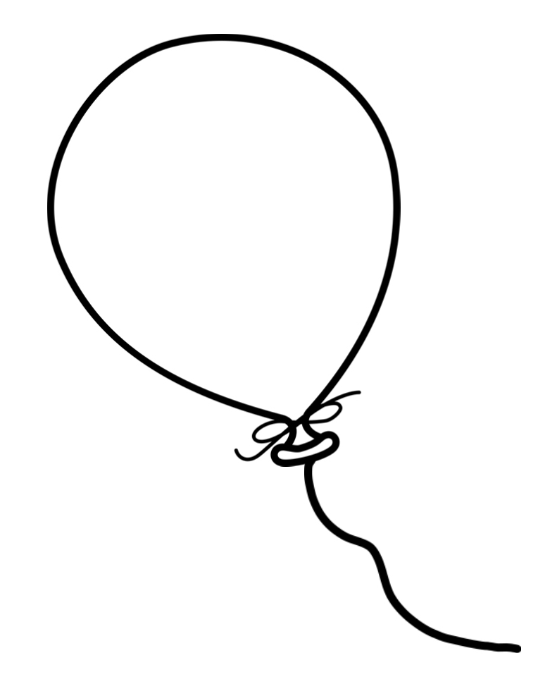 Balloon template