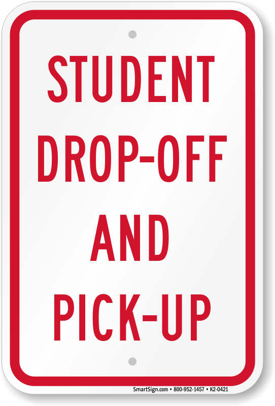 drop off pick up